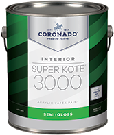 Roswell Paint Center (in.SIDE.out) Super Kote 3000 is newly improved for undetectable touch-ups and excellent hide. Designed to facilitate getting the job done right, this low-VOC product is ideal for new work or re-paints, including commercial, residential, and new construction projects.boom